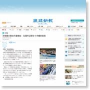 浮桟橋の撤去作業開始 名護市辺野古で沖縄防衛局 – 琉球新報