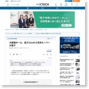 大阪城ホール、高さ21mから天井ルーバーが落下 – 日経テクノロジーオンライン