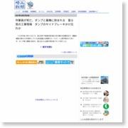 作業員が死亡、ダンプと重機に挟まれる 富士見の工事現場 ダンプのサイドブレーキかけ忘れか – 埼玉新聞