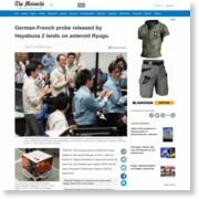 German-French probe released by Hayabusa 2 lands on asteroid Ryugu – The Mainichi