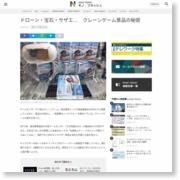 ドローン・宝石・サザエ… クレーンゲーム景品の秘密 – 日本経済新聞