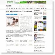 片山氏、無許可の看板設置を認める 自らの責任は否定 – 朝日新聞