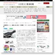 2輪車用シート、速度に応じ高さ・形調整 テイ・エステックが開発 – 日刊工業新聞