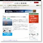 三井造船、ベトナムで港湾荷役用コンテナクレーン30基受注 – 日刊工業新聞
