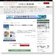 戸田建設、タワークレーン自動誘導システム開発 – 日刊工業新聞
