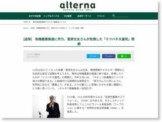 [追悼] 有機農業推進に尽力、菅原文太さんが危惧した「ミツバチ大量死」問題 – オルタナ